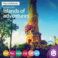Las islas de las aventuras nos esperan con los grupos #doradoF16 #fucsiaF16 #esmeraldaF16 #rojoF16 #coralF16 #celesteF16. Allá vamos con #enjoy15! #15
