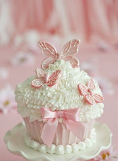 "(via Butterfly Cupcake | Don't ""Bug"" Me ♥ 
