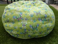 Butterfly Bean Bag Chair Cover by CopperBugCompany on Etsy, $55.00