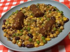 Hüvelyes mix Black Eyed Peas, Beans, Vegetables, Food, Essen, Vegetable Recipes, Meals, Yemek, Beans Recipes