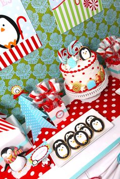 """Photo 4 of 22: Winter Candyland / Birthday """"Blake's Winter Candyland"""" 