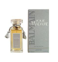 Jolie Madame Perfume by Balmain Eau De Toilette spray for Women Balmain Perfume, Pierre Balmain, Vintage Makeup, Sweet Memories, Cologne, Perfume Bottles, Violets, Fragrances, Women