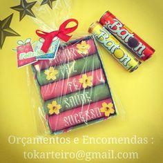 Lembrancinhas de Natal com chocolate Baton! Orçamentos e Encomendas : tokarteiro@gmail.com