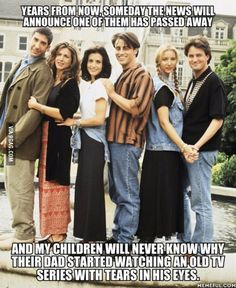 This got me..and I'm a huge fan of friends