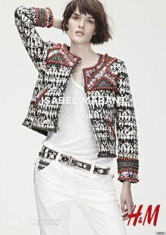 Model-Filled Ads For Isabel Marant For H