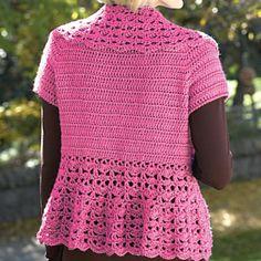 Ravelry: Vest with Shawl Collar pattern by Bernat Design Studio