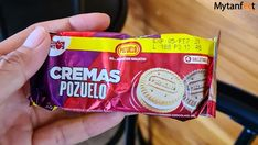 Cremas cookies Costa Rican Food, Snack Recipes, Snacks, Chips, Food And Drink, Good Things, Blog, Cookies, Snack Mix Recipes