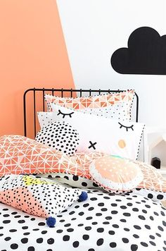 Need to freshen up the kid's rooms? These 10 Awesome Kids Bedding Ideas are the perfect place to start! Full of fun patterns and colours these quilt covers are sure to brighten up any bedroom. Girls Bedroom, Bedroom Decor, Room Girls, Nursery Decor, Bedroom Ideas, Master Bedroom, Deco Kids, Kids Decor, Home Decor