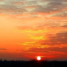 Beautiful sunset  Bardstown Ky
