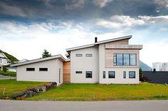 Inspirasjon: Fire flotte funkishus bygget med Leca - Byggmakker Home Fashion, Cottage, Cabin, Mansions, House Styles, Home Decor, Modern, Decoration Home, Room Decor