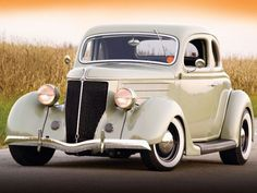 1936 Ford 5 window coupe - Classic Hot Rod..Re-pin brought to you by agents of #carinsurance at #houseofinsurance in Eugene, Oregon