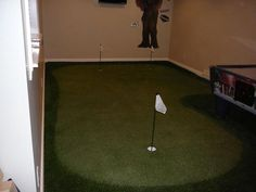 Spend some of those looooong football games working on your put put. I'd say that is multi-tasking.