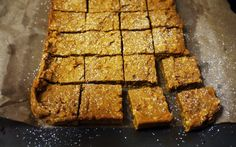 Chocolate Butterscotch Pumpkin Oat Bars | One Hungry Mama