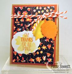 Stamp on Back to Black Designer Paper with the Dotty Angles polka dot stamp for custom colored awesome background paper!  by Patty Bennett