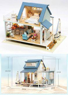 les crevettes Fait main .1:12th échelle Nouveau Set de six Maison de poupées Nourriture