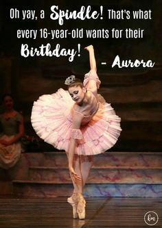 "Kathryn Morgan as Aurora in ""The Sleeping Beauty""."