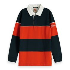 Scotch & Soda poloshirt : Hoe tof is deze polo! Scotch Shrunk, Scotch Soda, Purchase History, Rugby, Boy Outfits, Nike Jacket, Pullover, Sweatshirts, Long Sleeve