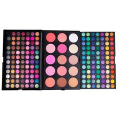 Delicate 8 Colours Sparkly Diamond Earth Tone Eye Shadow Palette with Mirror and Brush in 05 | Sammydress.com Mobile