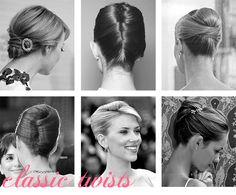 Hair top right