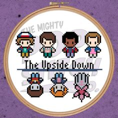 Stranger Things  The Upside Down  Cross Stitch PATTERN