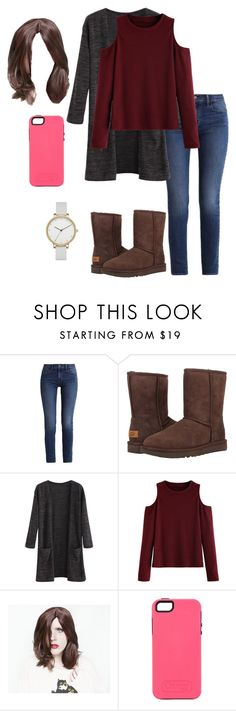 """Mia"" by shoppingismycardio99 on Polyvore featuring Calvin Klein, UGG, WithChic and Skagen"