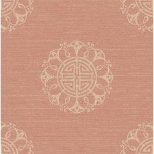"""Empress Lien Fountain Medallion 33' x 20.5"""" Geometric Wallpaper"""