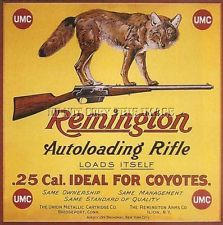 ANTIQUE REPRO 8 X 10 ADVERTISING PRINT REMINGTON MODEL 8 AUTOLOADING RIFLE