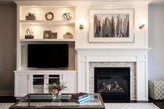 65 simple fireplace décor ideas on budget (13)