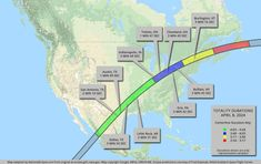 Solar Eclipse Map, 2024 Eclipse, Indiana Cities, Arkansas City, List Of Cities, Missouri City, View Map, Central America, New Hampshire