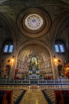 , Basilica of the National Shrine of the Little Flower/San Antonio, Texas.