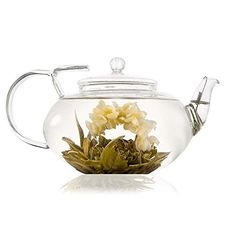 Grand Lotus Teapot 1000ml with coil filter: Amazon.co.uk: Kitchen & Home
