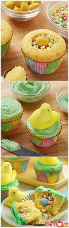 FASHİON TV 2015: PEEPS® Chick Surprise-Inside Cupcakes