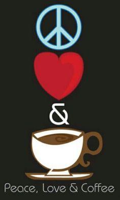 Amor.corazón y café