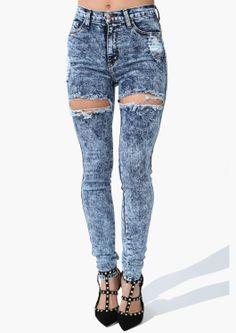 Shorty High Waist Jeans