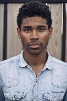 Black men natural hair