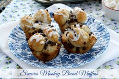 Mommy's Kitchen - Home Cooking & Family Friendly Recipes: S'mores Monkey Bread Muffins #frozenbreaddough @Rhodes Bread & Rolls #monkeybread