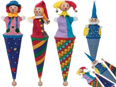 Pop Up Cone Puppet