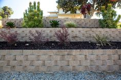 Get inspired by the Keystone Retaining Wall Systems photo gallery to spark your imagination with the standard for excellence in the segmental industry. Keystone Retaining Wall, Retaining Wall Blocks, Retaining Walls, Keystone Wall, Court Yard, Landscape Walls, Grass, Photo Galleries, Landscaping