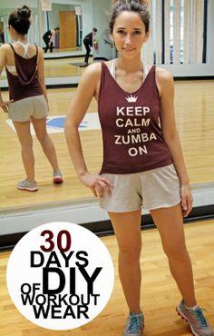 Grosgrain: 30 Days of Workout Wear: Day 7 Halter Hoodie