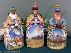 Jim Shore Wisemen Figurines-Set of 3 Let Every Heart Prepare Him Room 113256 New