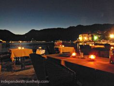Perast at night