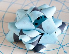 fabric bow easy and cute!