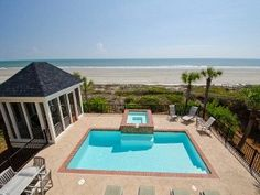 Charleston Brick and Stucco 8BR/7BA Home, with Private Pool access to beach Vacation Rental in Kiawah Island from @homeaway! #vacation #rental #travel #homeaway
