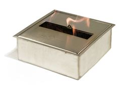The Bio Flame UL Listed Ethanol Fireplaces Burner, Indoor/Outdoor Tabletop Fireplaces, Ethanol Fireplace, Modern Fireplaces, Ethanol Fuel, Clocks For Sale, Modern Area Rugs, Indoor Outdoor, Stainless Steel, Modern Living