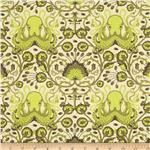 Octo fabric in green
