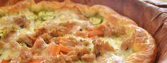 Gustosissima torta rustica di #tonno e #verdure; una vera bontà! Assolutamente da provare!!!