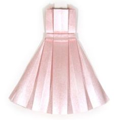 How to make an origami dress on http://www.origami-make.com/origami-dress.php