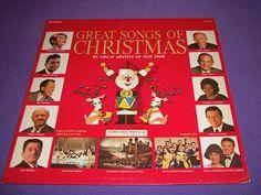 """Great Songs Of Christmas Volume 6 Barbra Streisand Pablo Casals Jan Peerce 12"""" Vinyl LP"""