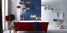 POP Tiles, bathroom modern ceramic double firing [AM POP 1]