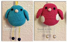 La Magia del Crochet: PAJARITOS Free Crochet, Knit Crochet, Crochet Hats, Hobbies And Crafts, Blanket, Knitting, Diy, How To Make, Gabriel